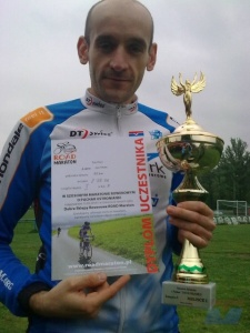 Adam Galman wyścig o Puchar Ustronianki