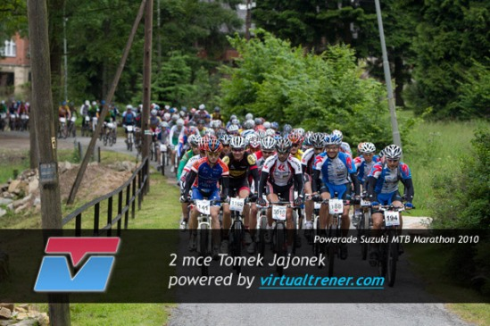 Tomek Jajonek Powerade Suzuki MTB Marathon Miedzygórze 19 czerwca 2010 2 mce by virtualtrener.com