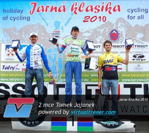 Tomek Jajonek -  Jarna Klasika 2010 - 2 mce by virtualtrener.com