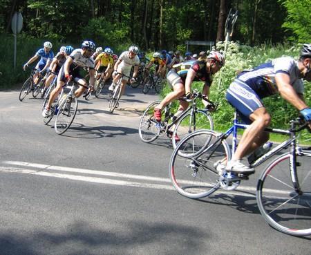 Tomek Gawroński  Aleksandrów Łódzki wyścig Masters 13 czerwca 2010 - 3 mce by virtualtrener.com