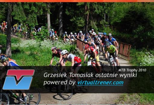 Grzesiek Tomasiak - MTB TROPHY 3-6 czerwca 2010 by Virtualtrener.com