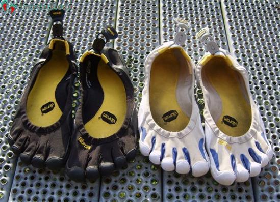 buty pięciopalczaste