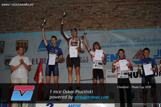 Oskar Pluciński Chodzież - Thule Cup 20 czerwca 2010 - 1 mce by virtualtrener.com