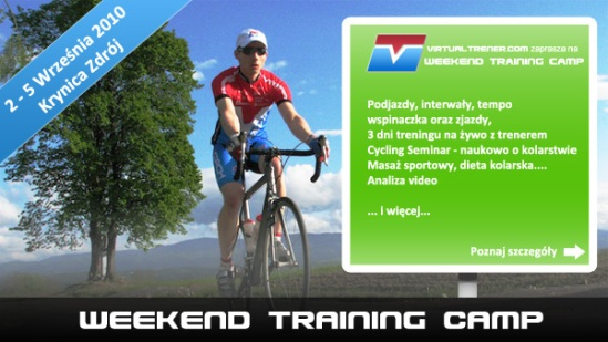 WTC - Weekend Training Camp by virtualtrener.com