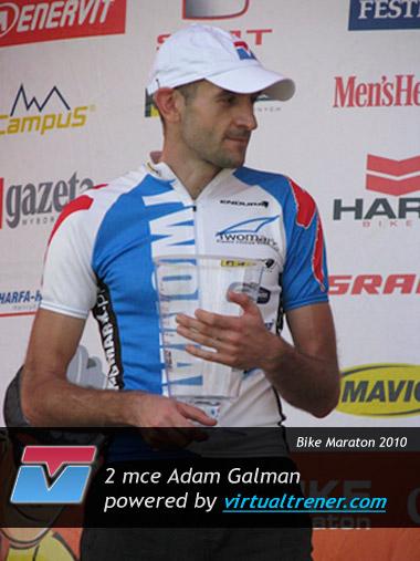 Adam Galman Bike Maraton 2010 1 sierpnia 2010 - 2 mce by virtualtrener.com