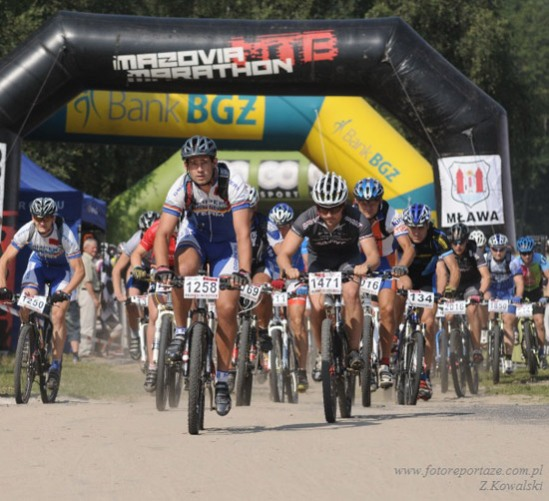 Arek Szeląg Mazovia MTB Marathon 22 sierpnia 2010 - 5 mce (8 open) by virtualtrener.com