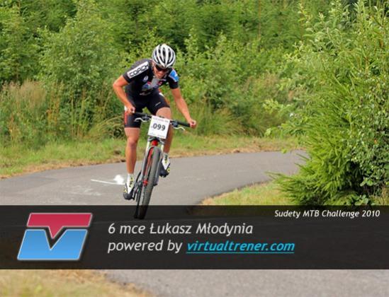 Łukasz Młodynia Sudety MTB Challenge 26-30 lipca 2010 - 6 mce by virtualtrener.com