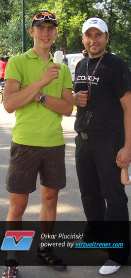 Oskar Pluciński Bike Maraton 1 sierpnia 2010 - 1 mce by virtualtrener.com