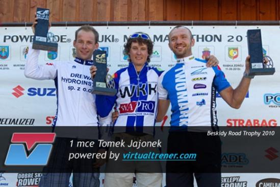 Tomek Jajonek Beskidy Road Trophy 22 sierpnia 2010 - mce 1, 2 Open by virtualtrener.com