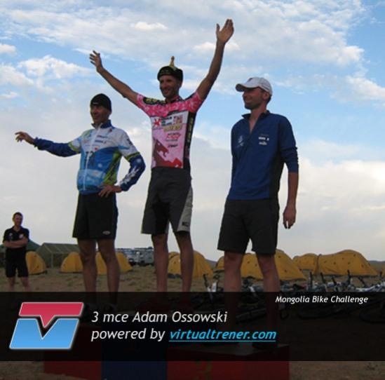 Adam Ossowski Mongolia Bike Challenge by virtualtrener.com