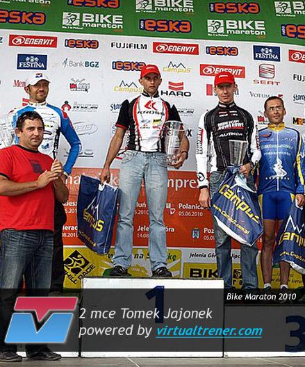 Tomek Jajonek Bike Maraton 5 września 2010 - 2 mce (2 Open) by virtualtrener.com
