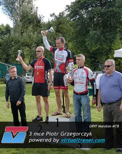 Piotr Grzegorczyk GRYF Maraton MTB 5 września 2010 - 3 mce by virtualtrener.com