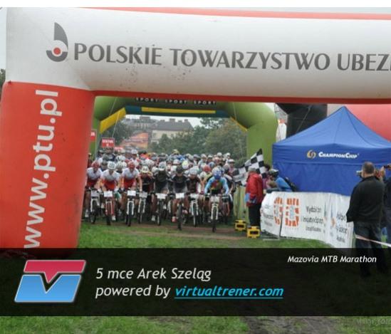 Arek Szeląg Mazovia MTB Marathon - Kraków 12 września 2010 - mce 5 by virtualtrener.com