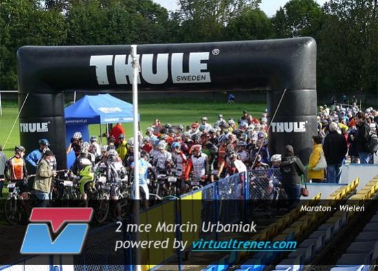 Marcin Urbaniak Maraton - Wieleń 18 września 2010 - mce 2 Open by virtualtrener.com