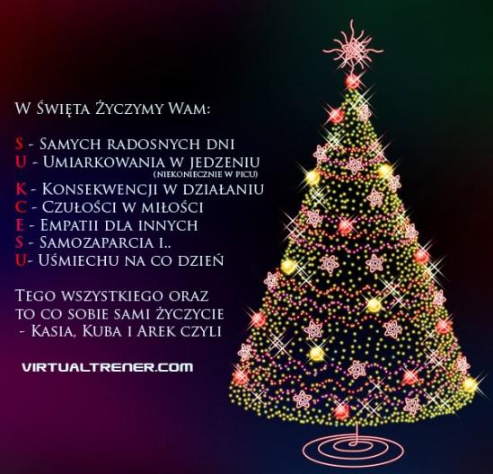 Kartka Świąteczna od Virtualtrener'a