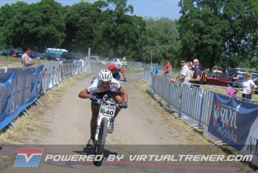 Mateusz Urbaniak & Bartosz Bejm na finiszu w Mosinie