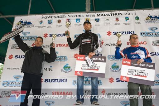 1 mce. Tomasza Jajonka na Powerade Suzuki Maraton w Krynicy-Zdroju